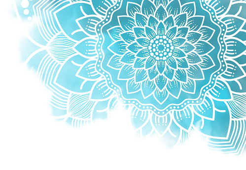 istock Abstract mandala graphic background 1040231154