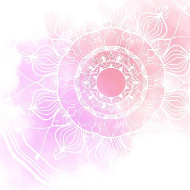 Abstrakte Mandala-Grafik-Design-Hintergrund – Foto