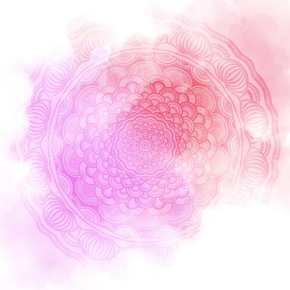istock Abstract mandala graphic design background 974614454