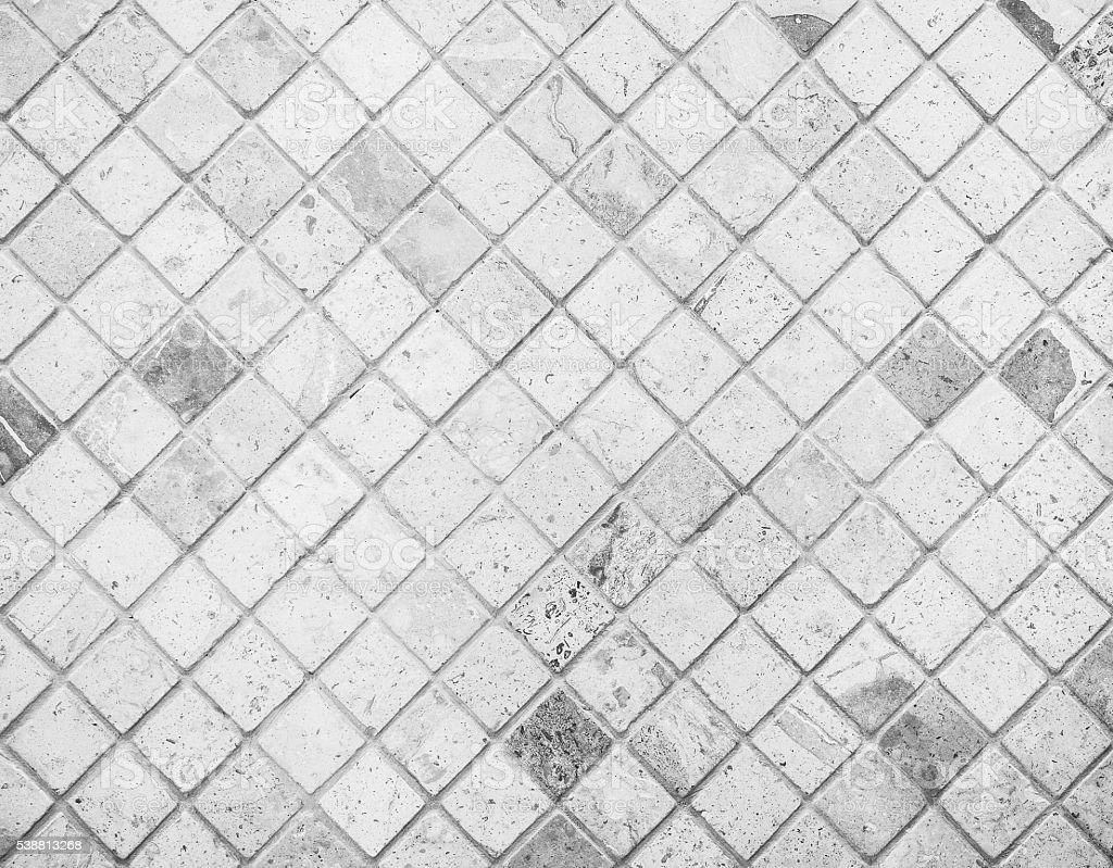 Abstrato com textura de mosaico de azulejos de mármore - foto de acervo