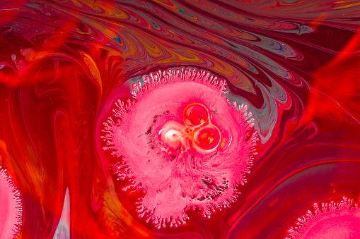 Abstract Marmering Kunst Patronen Als Kleurrijke Achtergrond Stockfoto en meer beelden van Abstract
