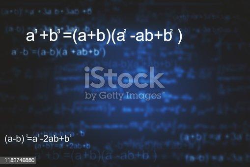 istock Abstract math texture 1182746880