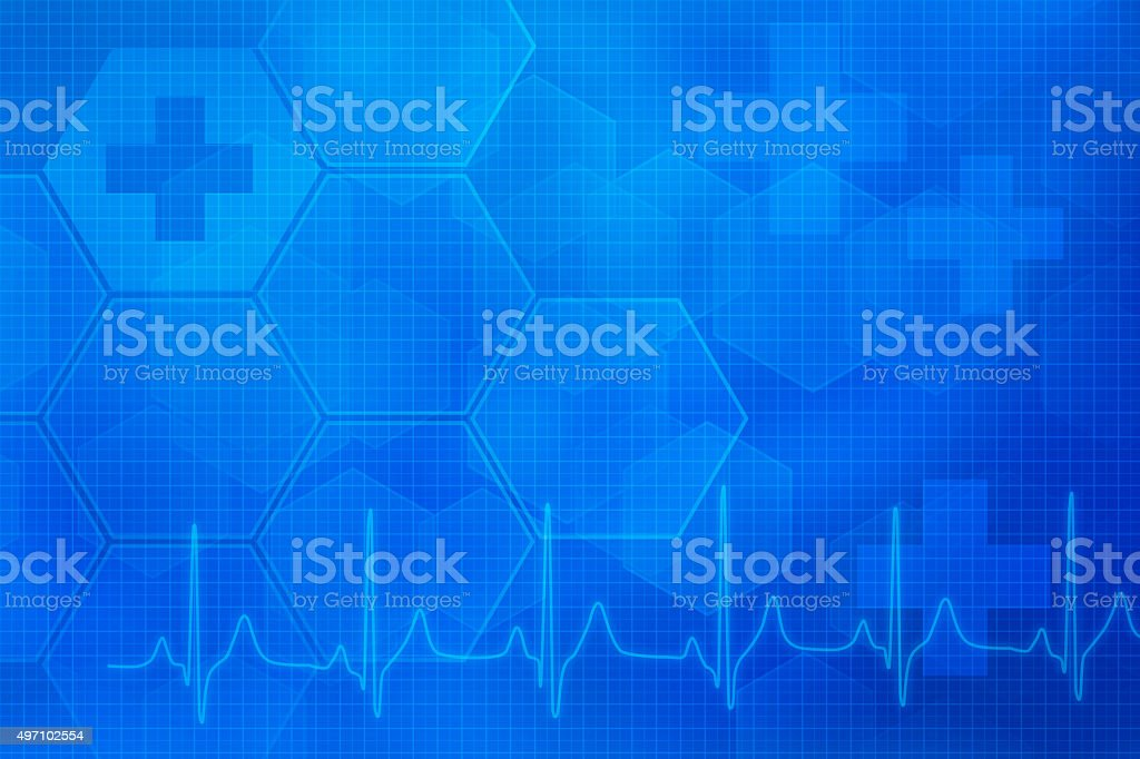 Abstract medical background stock photo