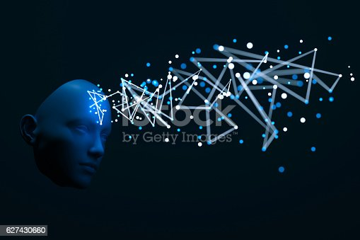 istock Abstract meditation concept 627430660