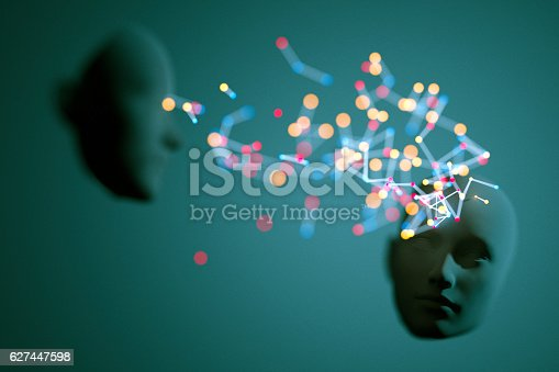 istock Abstract meditation concept 627447598