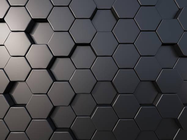abstrakte metall biene bienenkorb hintergrund - bienenstock stock-fotos und bilder
