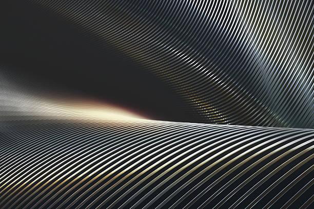 chrome de metal abstrato - cromo metal - fotografias e filmes do acervo