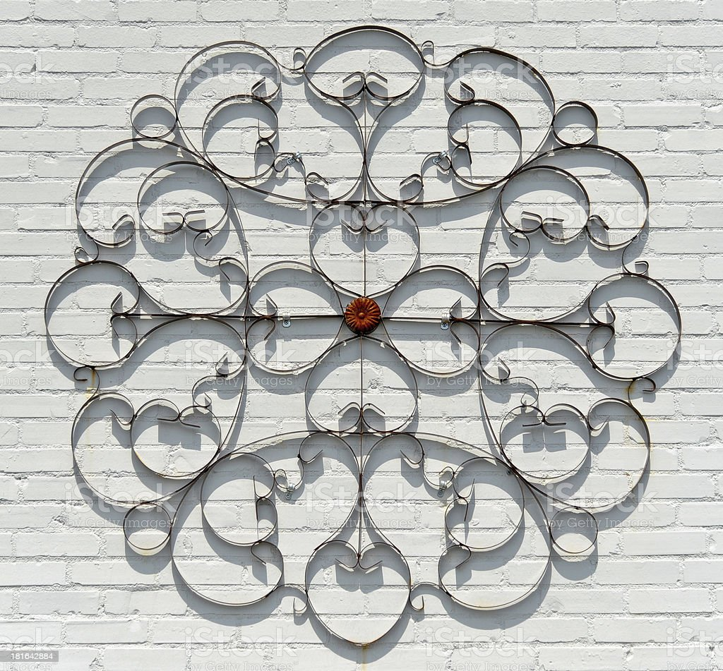 Abstract Metal Decoration royalty-free stock photo