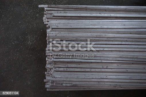 istock abstract metal line 529051104