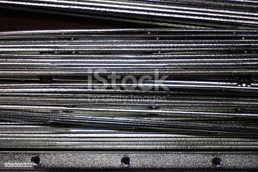 istock abstract metal line 539355322