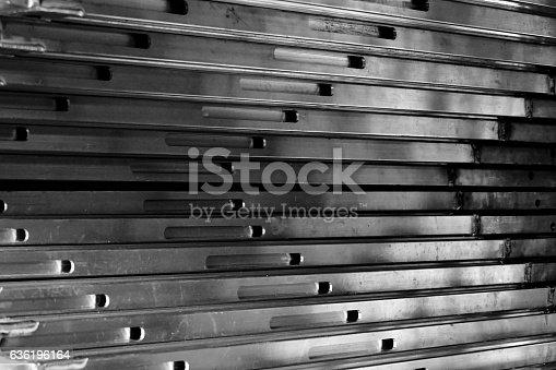 istock abstract metal line 636196164