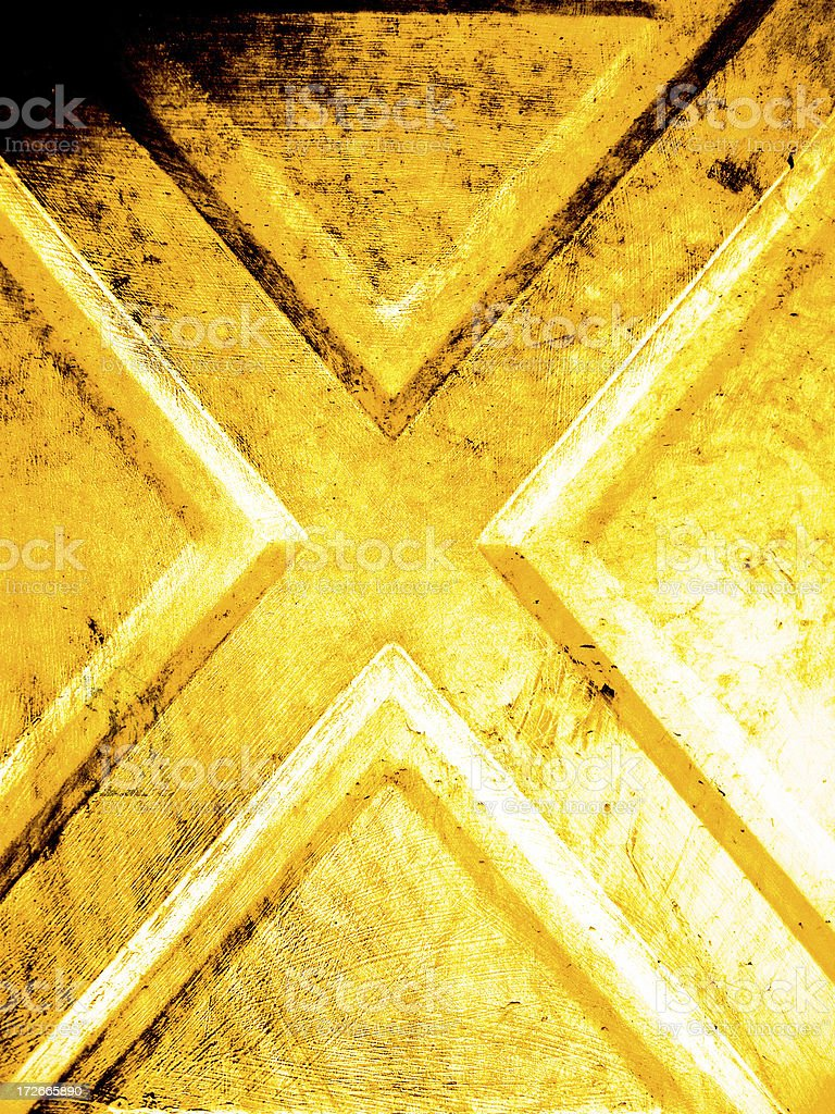 Abstract - Metal X Background stock photo