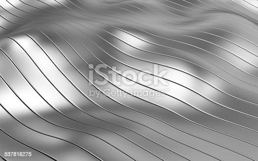 537816275 istock photo Abstract Metallic Background 537816275