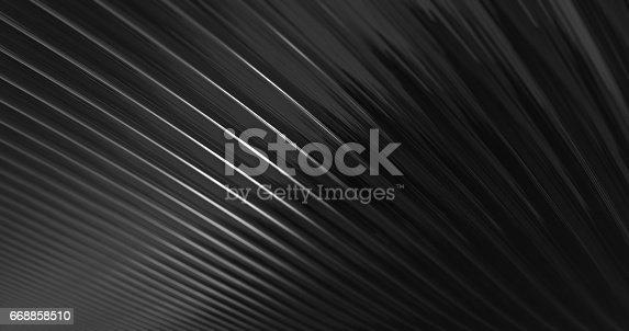 istock 3D Abstract Metallic Reflection. 668858510