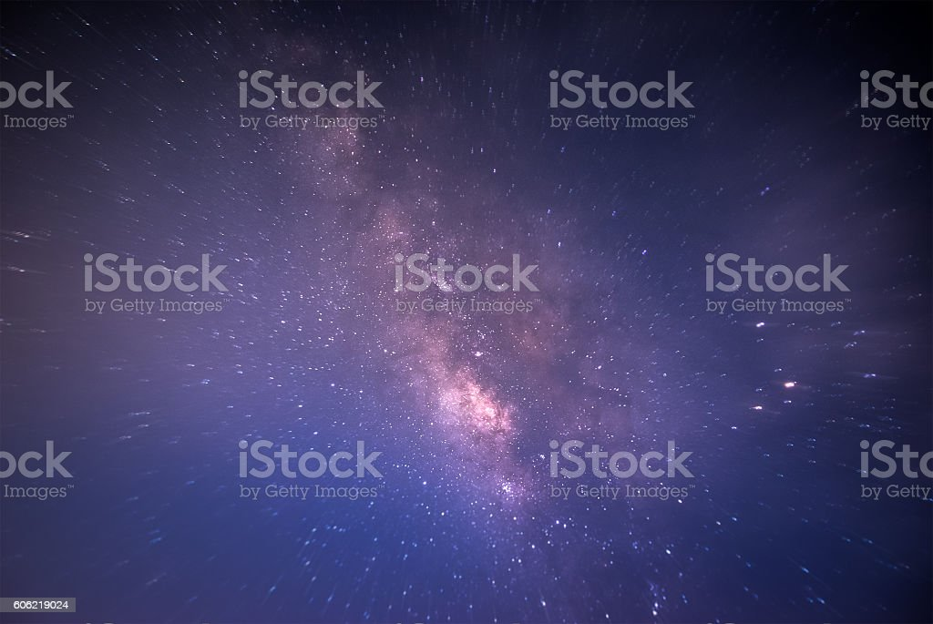 abstract milky way background stock photo