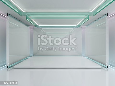 478919130istockphoto Abstract modern architecture background. 3D rendering 1130141913