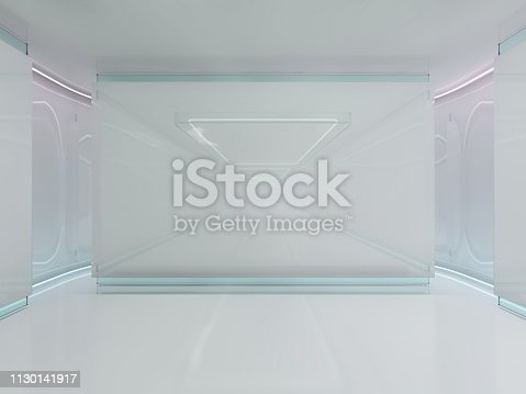 478919130istockphoto Abstract modern architecture background. 3D rendering 1130141917