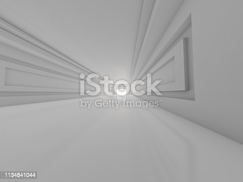 470934084 istock photo Abstract modern architecture background. 3D rendering 1134841044