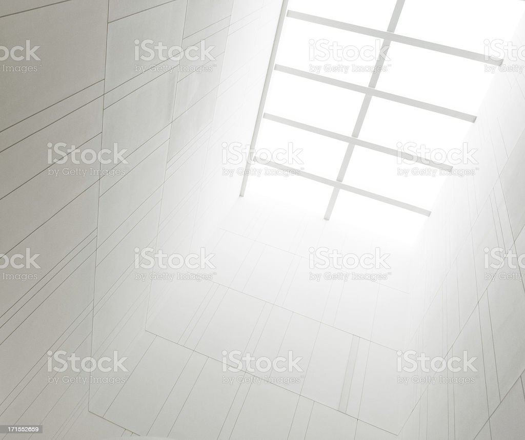 Abstract modern architecture background royalty-free stock photo