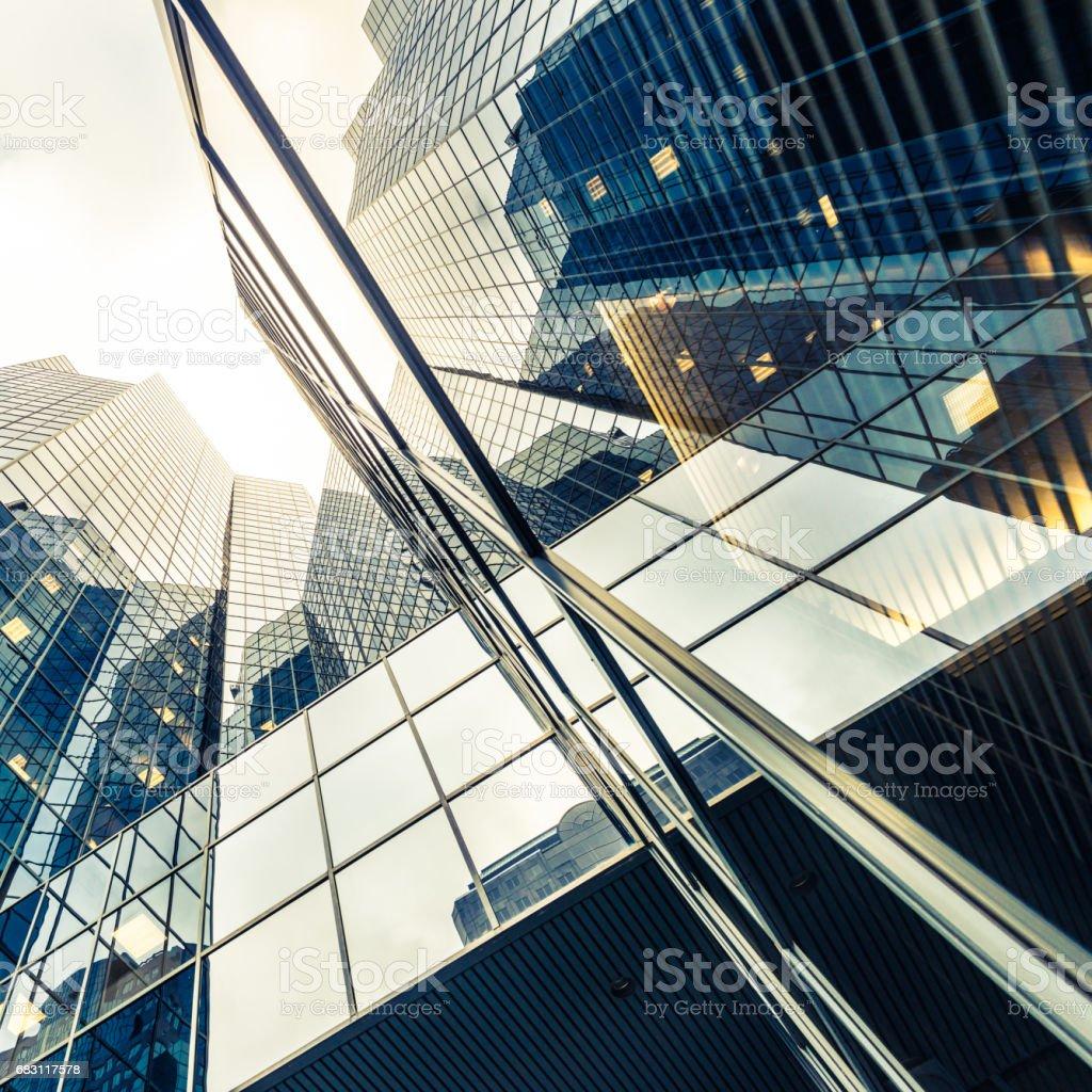 Abstrait architecture moderne  - Photo