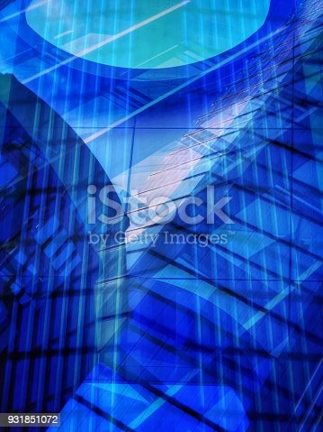 647236352 istock photo Abstract modern business background 931851072