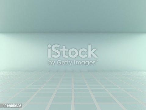 996693064 istock photo Abstract modern empty room 1216559393