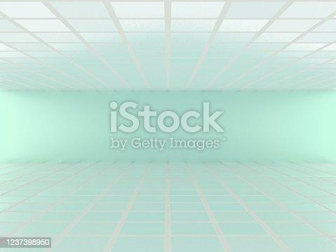996693064 istock photo Abstract modern empty room 1237398950