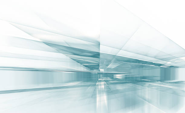abstract modern perspective background stock photo