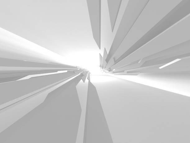 Abstrakte moderne weiße Architektur Hintergrund – Foto