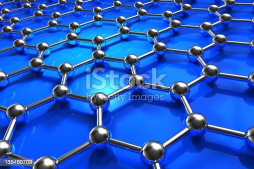 istock Abstract molecular nanostructure model 135450709