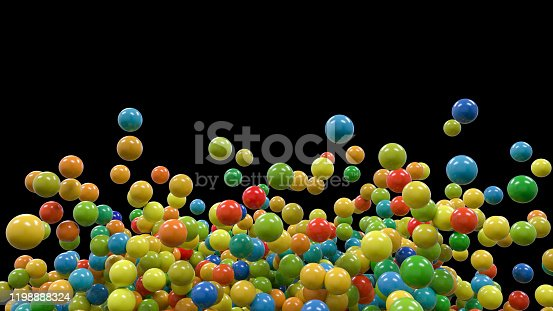 681362448 istock photo Abstract Molecular structure 1198888324