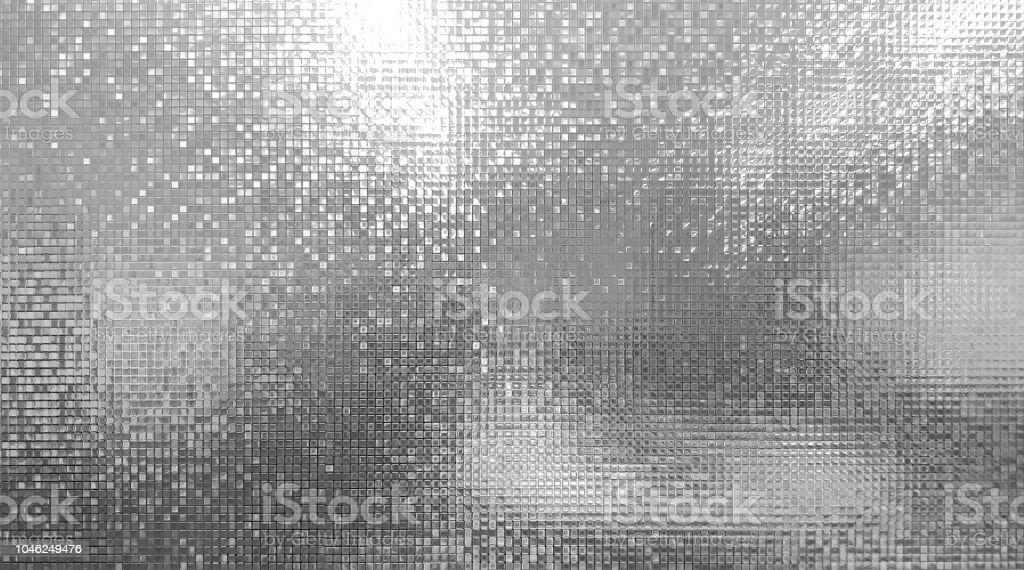 馬賽克牆的單光和玻璃門或窗上的散景在神秘的秘密會議室藝術壁紙和紋理或背景 - 免版稅住宅房間圖庫照片