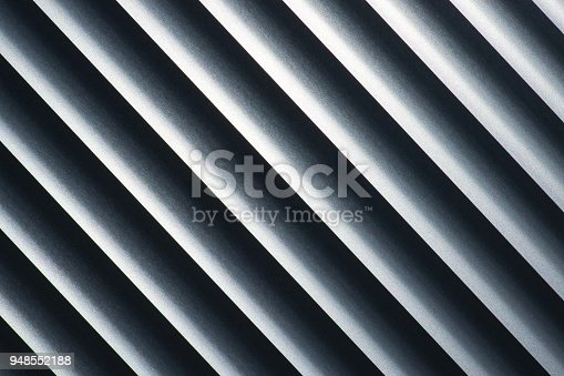 istock Abstract monochrome diagonal lines 948552188