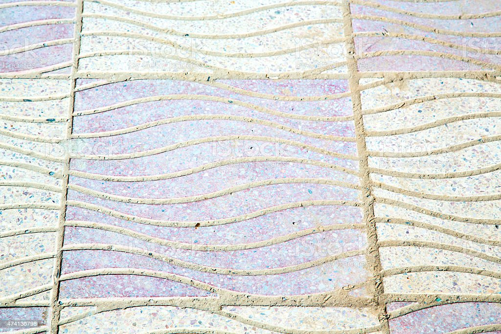 abstract morocco in africa  tile  pink   background texture stock photo
