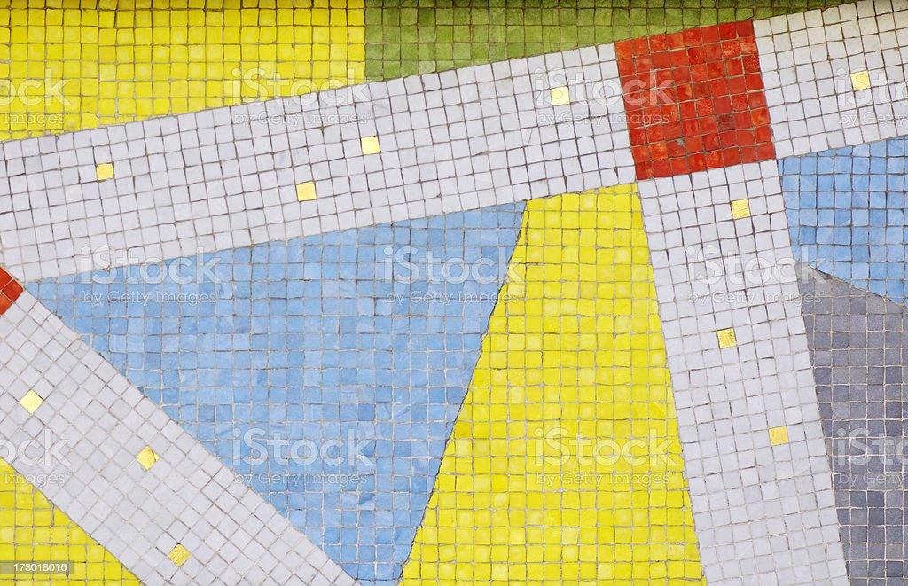 Abstract mosaic royalty-free stock photo