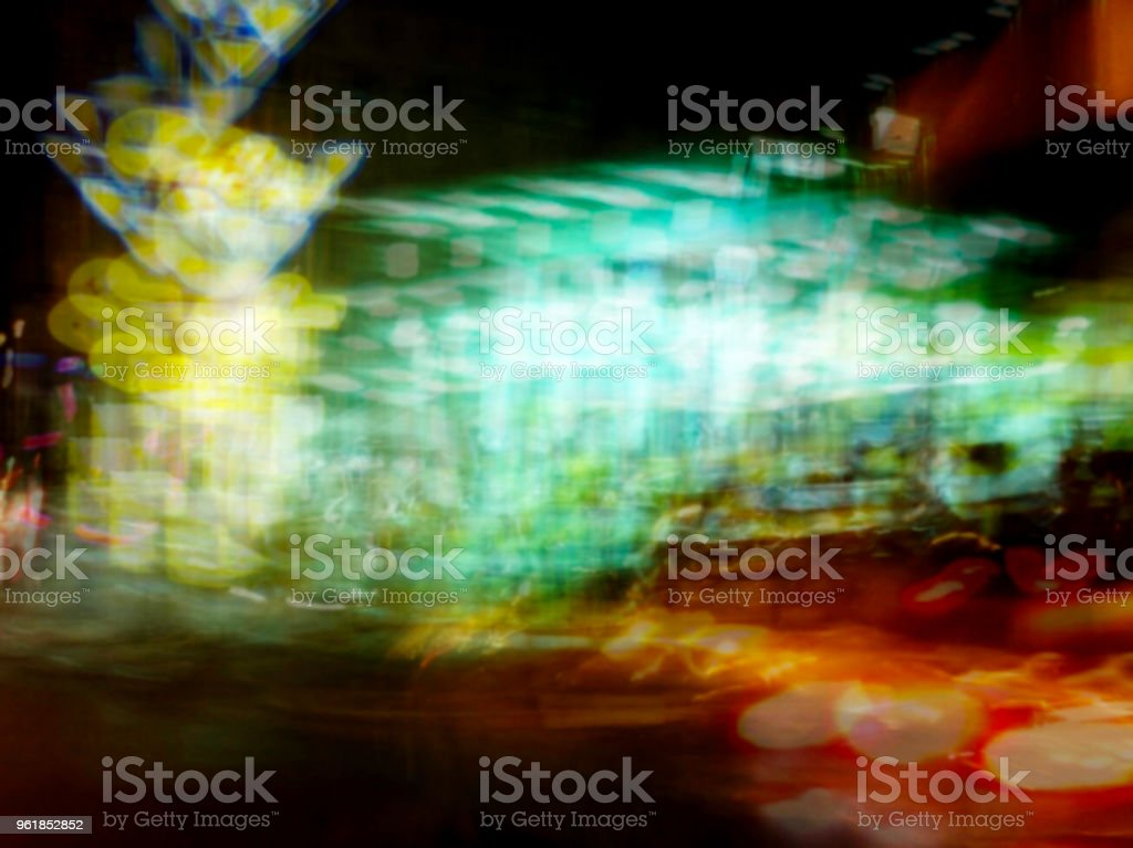 Abstract Motion Blur Effect Cars On The Road Stock Photo More