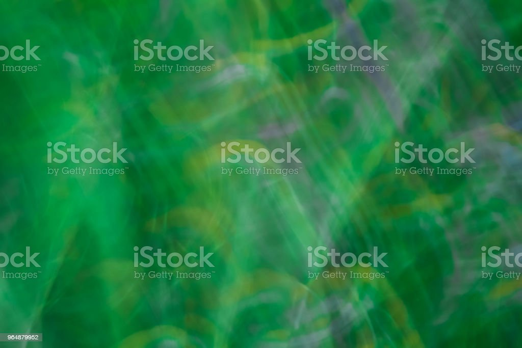 Abstract motion blur effect. Spring blurred grass royalty-free stock photo