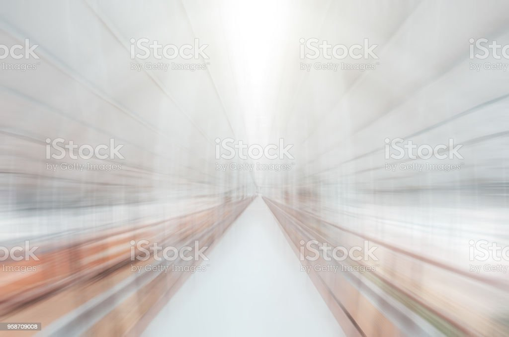 Abstract motion fast blurred high tech background. stock photo