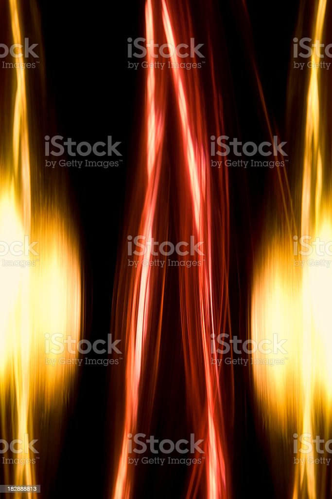 Abstract motion lights royalty-free stock photo