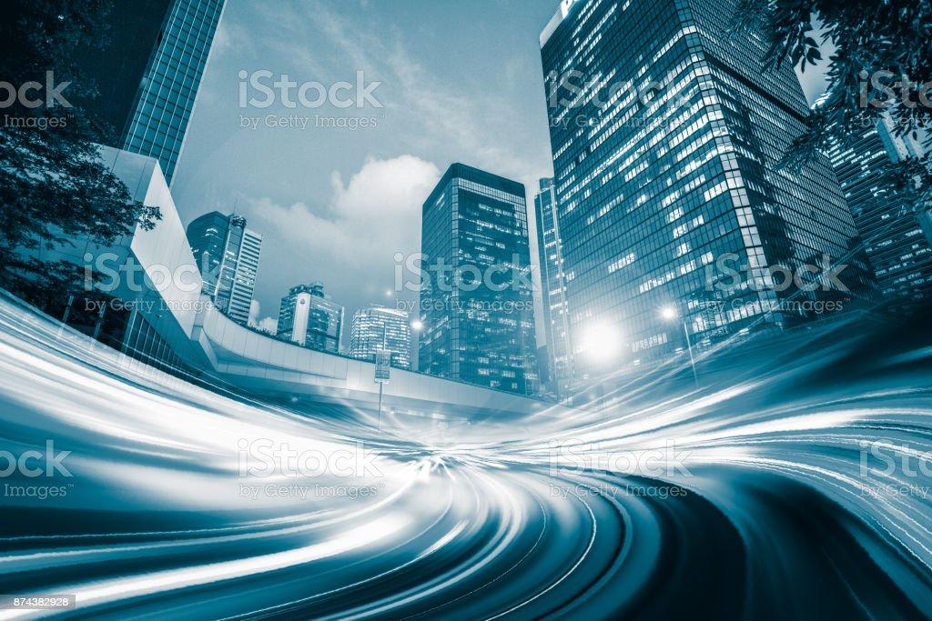 Geschwindigkeit, die Stadt