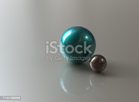 istock Abstract multi colored spheres 1144189309