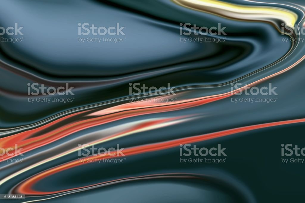 Abstract multicolor liquid background stock photo