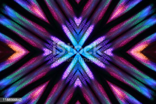 Abstract multicolored ornamental background.