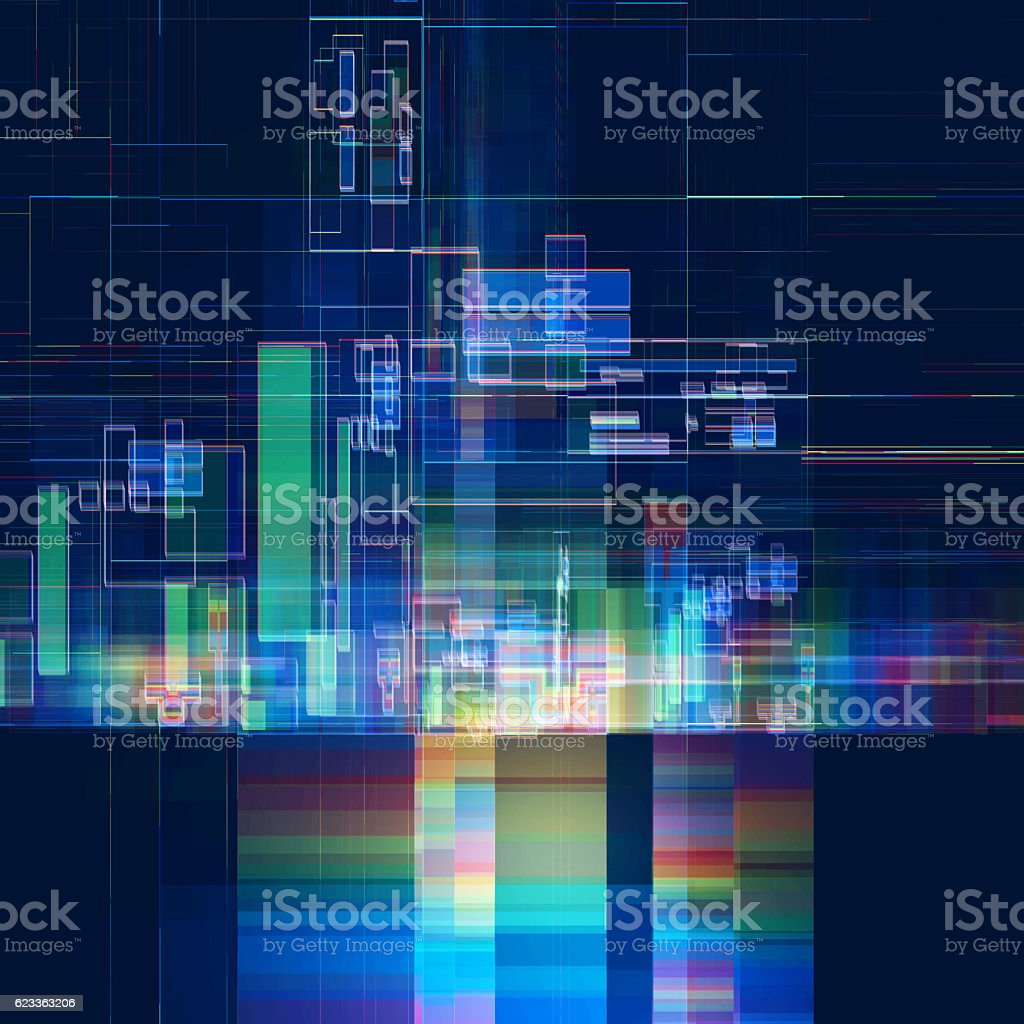 Abstract multicolored tech colorful background 스톡 사진