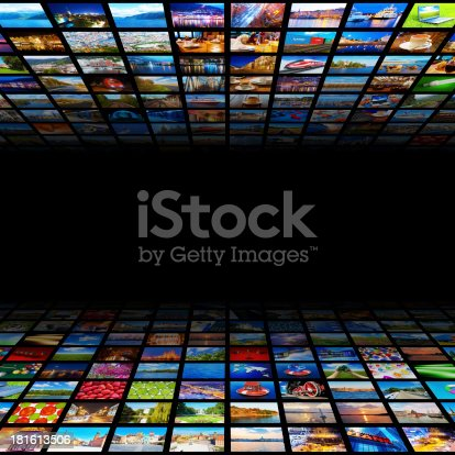 istock Abstract multimedia background 181613506