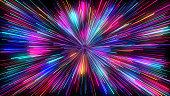 Neon Lights Particuler Background Animation