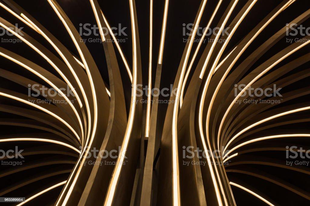 Abstract neon tree - Zbiór zdjęć royalty-free (Abstrakcja)