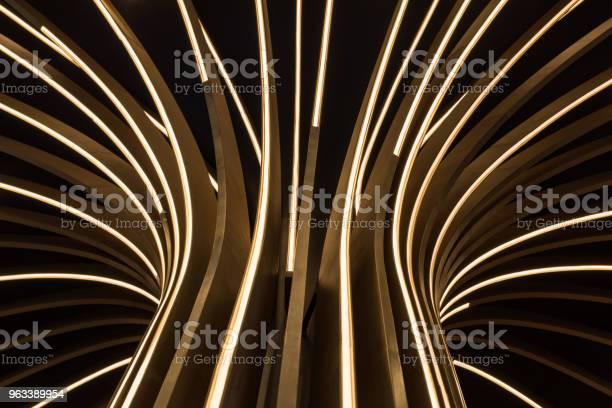 Abstrakcyjne Drzewo Neonowe - zdjęcia stockowe i więcej obrazów Abstrakcja