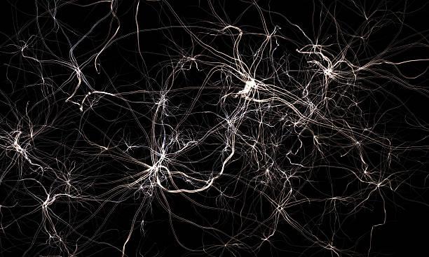 Abstrait système nerveux.  Science 3d illustration - Photo