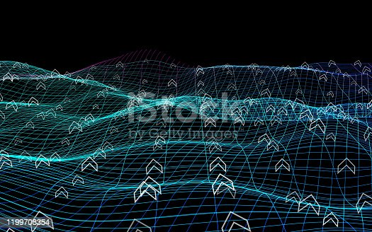 832632796 istock photo Abstract network background 1199708354